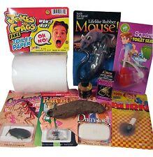 TRAVEL PRANK KIT - Stink Perfume Fake Dog Poop Rubber Mouse Joke Gag Trick