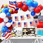 Patriotic Decorations Balloons Garland American Flag Kit - 109Pack Navy Blue Red