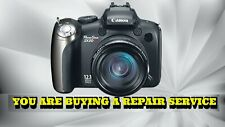 CANON PowerShot SX20 IS REPAIR SERVICE W/60 DAY WARRANTY-FREE RETURN SHIPPING