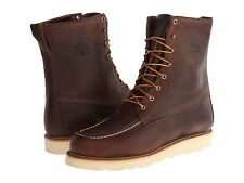 Men's Woolrich Speculator Basalt Leather Size US 10.5 MADE IN USA 350$