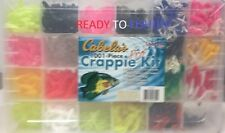 97CA EB140201 Ready to Fish! Cabela/'s 97-Piece Rigged Crappie Kit