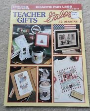 Leisure Arts Teacher Gifts Galore Counted Cross Stitch Pattern