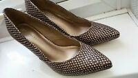 M&S Collection Insolia Shoes Size 4 Mink Mix - BNWT - Brown Mottled