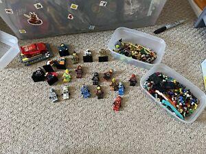 Lego Figures And Weapons Bundle