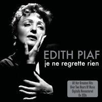 EDITH PIAF - JE NE REGRETTE RIEN 2 CD NEU