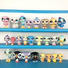Lot 25 Littlest Pet Shop Bird Oiseau Paon Chouette Cygne Flamant Rose LPS Set