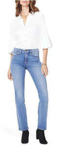 NYDJ Barbara Bootcut Jeans size 12 PETITE CABRIL DENIM color 12P whisker NWT$119