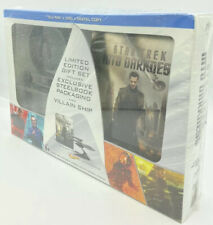 Star Trek: Into Darkness [2013] Blu-ray+DVD+Digital; Steelbook and Villain Ship