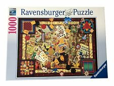 Ravensburger Vintage Board Games 1000 Pieces Jigsaw Puzzle 194063 COMPLETE
