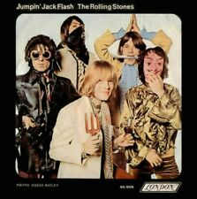 """ROLLONG STONES JUMPIN JACK FLASH 7"""" 45RPM REPRODUCTION PICTURE SLEEVE ONLY"""