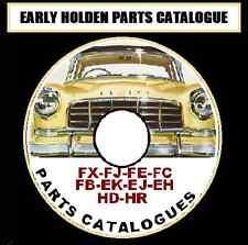 HOLDEN 48 FJ FE FC FB EK EJ EH HD HR all models FACTORY PARTS CATALOGUE