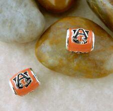 Auburn University euro style bead