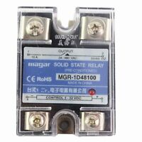 BRM3-60AA Solid State Relay 60AA//100AA Load 24-480VAC 3 Phase AC Control AC Solid State Relay with Security Protection Seal