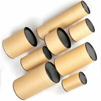 Brown Box Craft Storage Paper Tube Can Case Gift Birthday Party Wedding Supplies