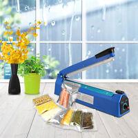 300mm Heat Sealing Hand Impulse Sealer Machine Poly Free Element Plastic Sealer