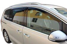 DVW31182 VW Sharan mk2 2010-up wind deflectors 4pc set Internal Fit TINTED HEKO