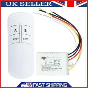 1/2/3 Ways ON/OFF 220V Wireless Digital Lamp Light RF Remote Control Switch Tool