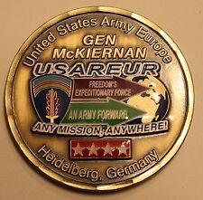 US Army Europe Gen. McKiernan Army Challenge Coin