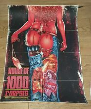 House of 1000 Corpses- Limited Edition Variant Screen Print by Stainboy nt Mondo