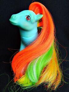 MLP ©84 My Little Pony - G1 UK Twisty Tail - Brush 'n Grow Earth Pony Hong Kong