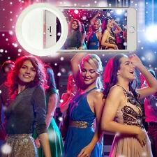 Portable Selfie Fill Light LED Flash Ring White Lighting For IPhone Mobile Phone