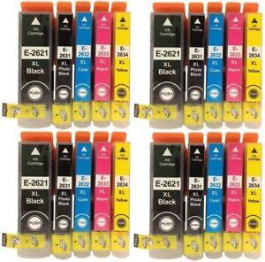 20 Colour Ink Cartridges 26XL For Epson XP 510 XP 600 XP 605 XP 700 XP 800 XP820