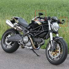 Motorcycle Handle Bar End Rearview Mirrors for Ducati Monster 696 750 1200 S4R
