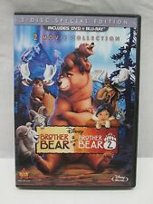 Brother Bear / Brother Bear 2 (Blu-Ray/DVD, 3-Disc Set) 2013 (L)