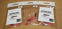 BM RIGS 3 x Whiting Rig Fishing Rigs with larger #2 Pink Lumo Flasher Rigs