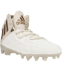 Adidas Freak LAX Mid Lacrosse/Football Cleats Unisex Size 9 CG4256 Cream/Gold