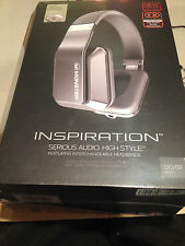 NEW MONSTER Inspiration Active Noise Canceling Over-Ear Headphones - Silver