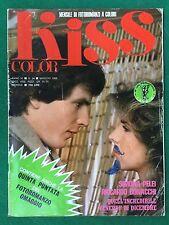 FOTOROMANZO Lancio KISS COLOR n.54 (1982) PELEI BONACCHI Rivista/Magazine