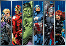 368x254cm Giant Wall mural Wallpaper Marvel Avengers boys bedroom decoration