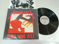 "Metallica Kill Em All Universal - LP Vinilo 12"" VG+/VG+"