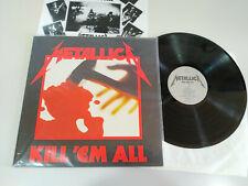"Metallica Kill Em All Universal - LP Vinilo 12"" VG+/VG+"