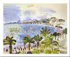 La Promenade Des Anglais Nice by Raoul Dufy 12x9.5 Museum Art Print Poster