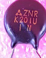 K201U - Metal Oxide Varistor.- Lot   Lot of 1, 5, or 10
