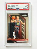 2018-19 Panini Prizm Trae Young RC #78, PSA 9 - Mint, Hawks Star Rookie!