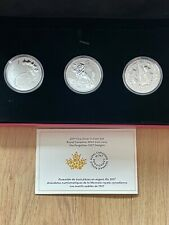 More details for 2017 fine silver 3 coin set - royal canadian mint coin lore - the forgotten 1927