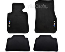 BMW M3 Series F80 F80LCI Floor mats With M3 Emblem LHD Side Clips