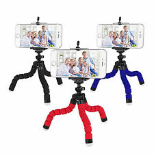 Universal Set Trípode soporte + Clip Para Cámara Teléfono iPhone Samsung Huawei