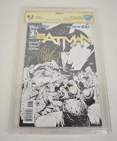 Batman 1 DC New 52 2011 CBCS SS Signed Scott Snyder Greg Capullo Sketch Variant