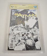 Batman 1 DC New 52 2011 CBCS SS Signed Scott Snyder Greg Capullo Sketch Variant