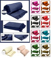 100% Cotton Honeycomb (Waffle) Sofa - Bed - Throw - Blanket - Bedspread