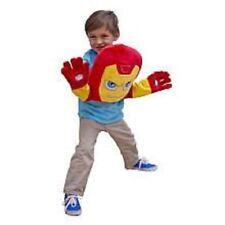 Avengers Iron Man Tony Stark Superhero Squad Plush Pillow Puppet Brand New