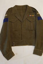 WW2 Canadian 2nd Division 5th RCA Artillery Lieutenant Battle Dress Tunic