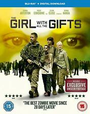 THE GIRL WITH ALL THE GIFTS-(BLU-RAY+DIGITAL DOWNLOAD)-NEW&SEALED-GEMMA ARTERTON
