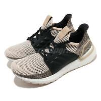 adidas UltraBOOST 19 M Linen Black White Men Running Shoes Sneakers G27504