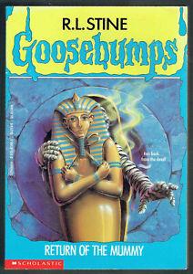 GOOSEBUMPS, RETURN OF THE MUMMY #23, VGC, LOOKS UNREAD.