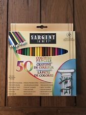 Sargent Art Premium Coloring Pencils, Pack of 50 Assorted Colors NEW